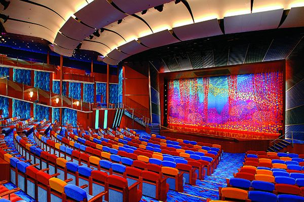 Teatro en el Jewel of the Seas