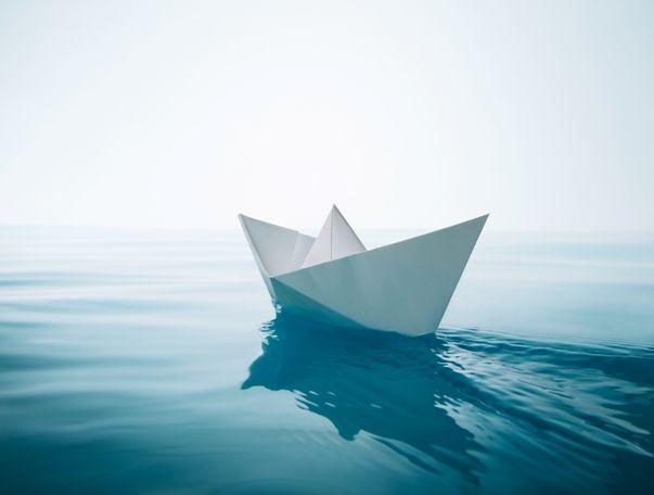 Motivo por el que flotan los barcos