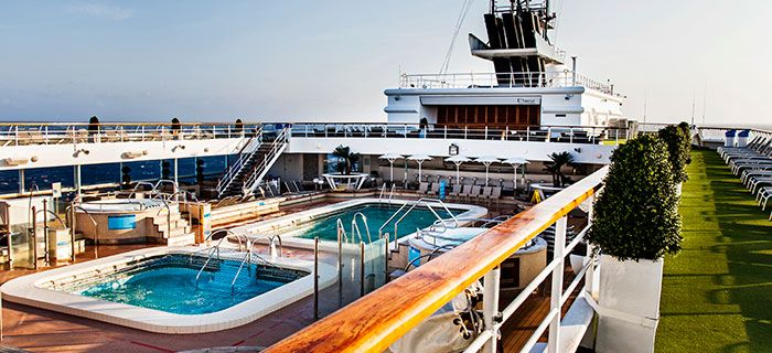 piscinas del Pullmantur Horizon