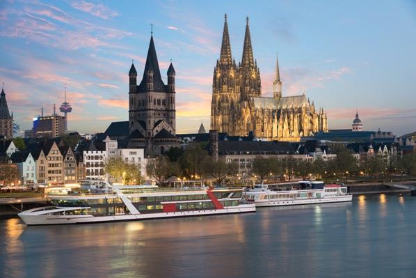 Crucero fluvial por el Rhin - Colonia