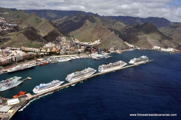 Informaci n sobre el puerto de tenerife escala de crucero - Atico santa cruz de tenerife ...