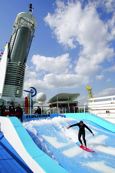 Flow Rider en el Freeedom of the Seas