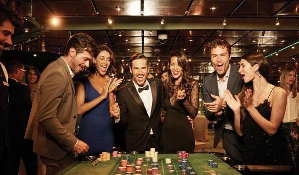 Animacion a bordo casino