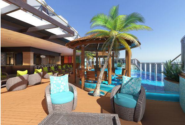 Carnival Horizon piscina