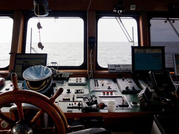 Puente de mando de un barco 2