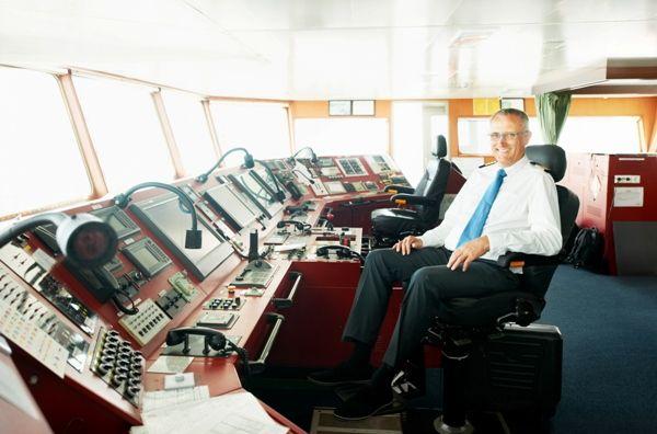 Puente de mando de un barco