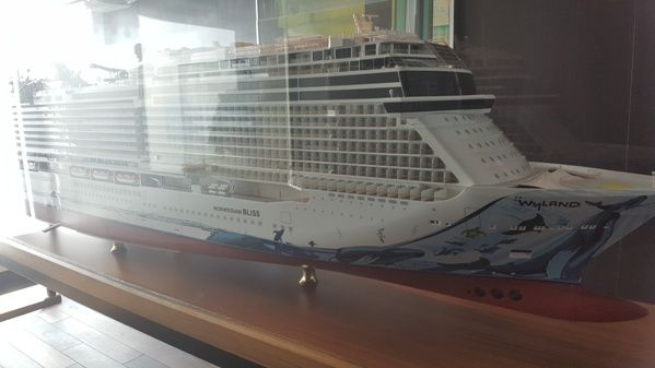 Diseño del Norwegian Bliss