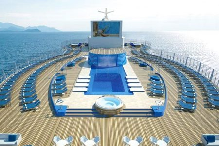 MSC Seaview sale al mar el 15 de junio