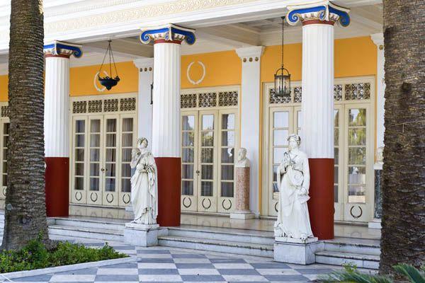 Palacio Achilleion en Corfu