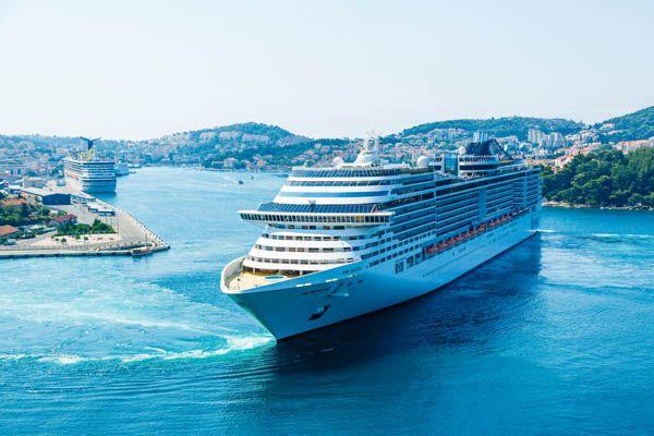 Crucero en el MSC Divina