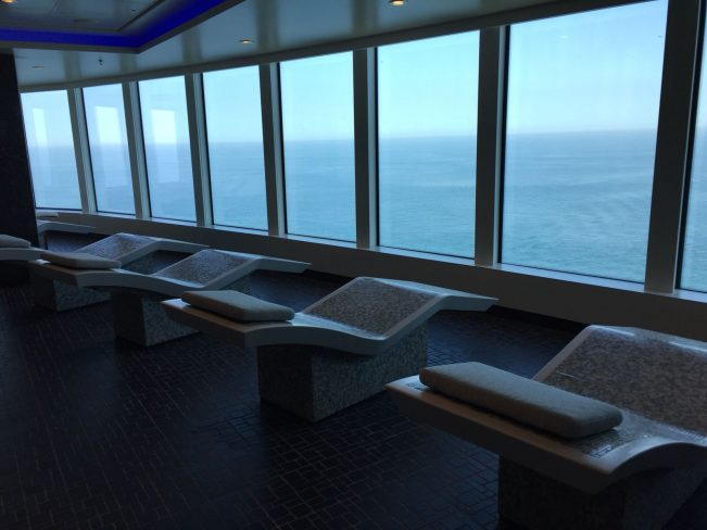 Camas calientes spa Norwegian Bliss