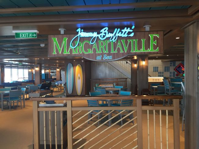Restaurante Margaritaville Norwegian Bliss
