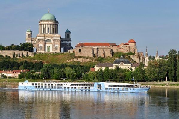 Crucero en el Danubio en Esztergom