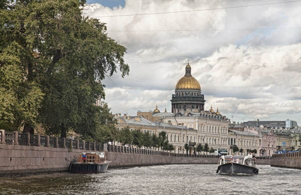 Crucero por San Petersburgo
