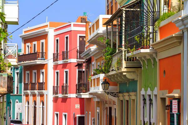 Casas coloniales en San Juan