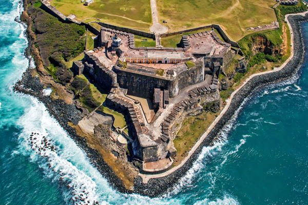 Castillo del Morro en San Juan