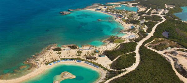 Great Stirrup Cay isla de NCL