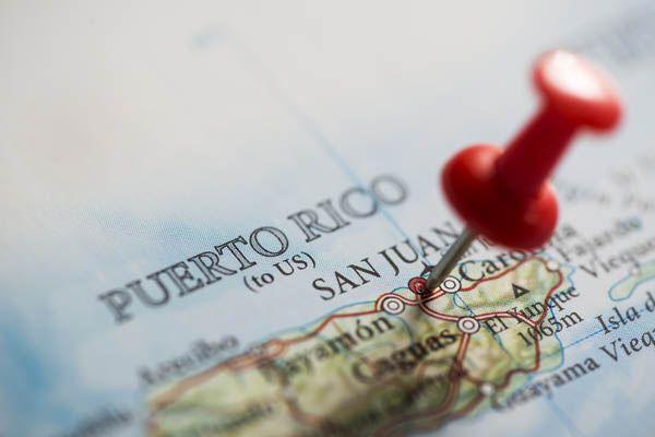 Mapa de San Juan de Puerto Rico
