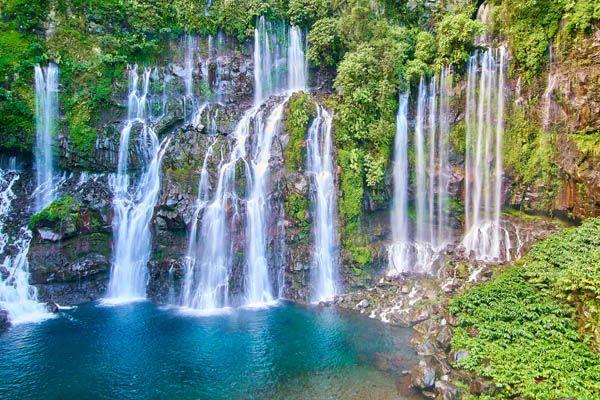 Cascadas en Isla Reunión
