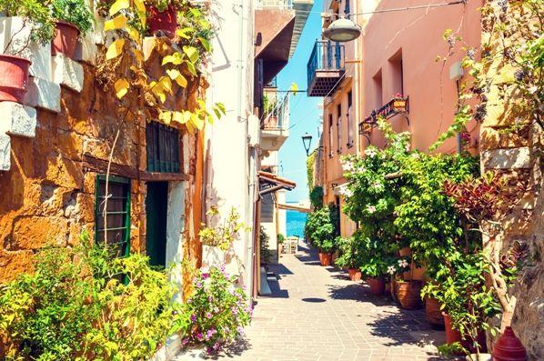 Calles antiguas de Chania