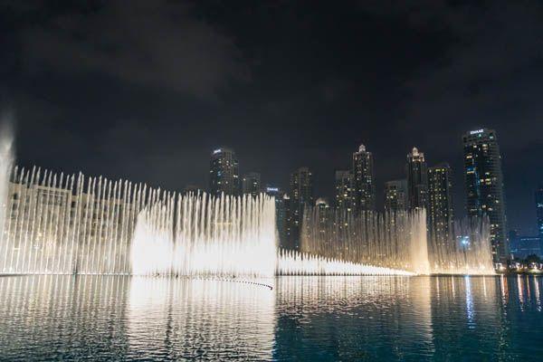 Fuentes de Dubai