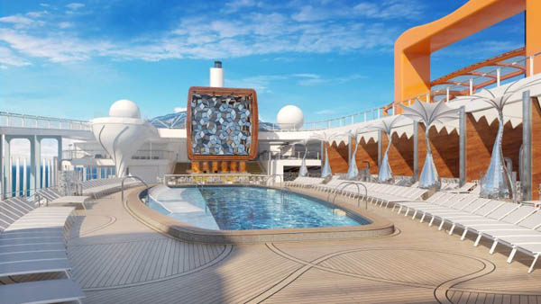 Pool Deck en Celebrity Edge