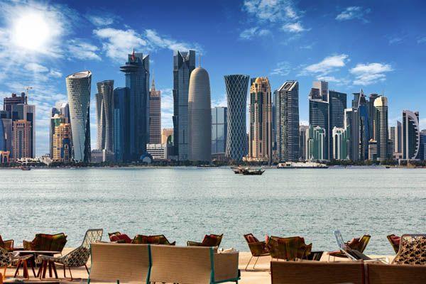 Vistas de Doha lujo árabe