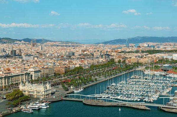 Puerto de Barcelona Vistas