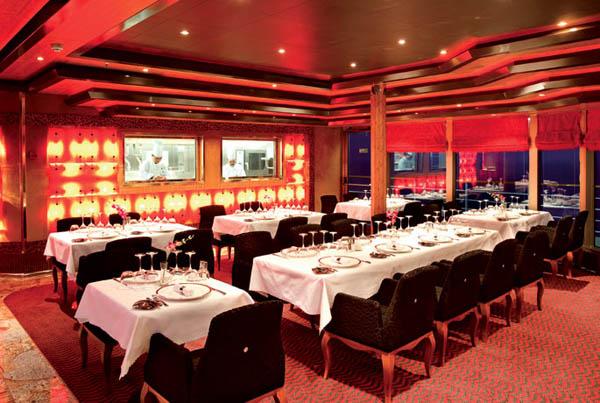 restaurante en Costa Cruceros