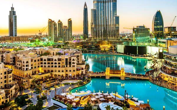 Dubai Mall - centro de Dubai