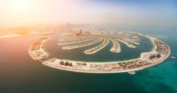 Palmera en Dubai