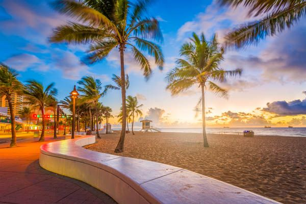 Playa en Fort Lauderdale