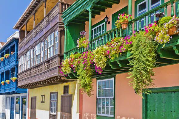 Casas coloniales Santa Cruz de La Palma