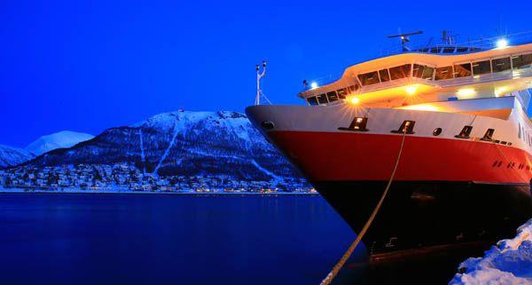 En el puerto de Tromso