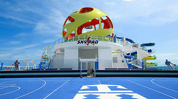 Skypad en Royal Caribbean