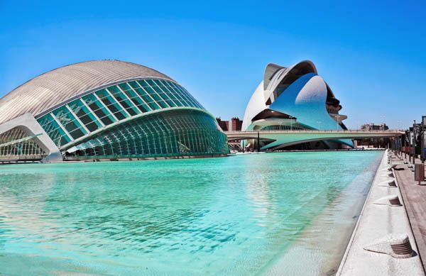 Ciudad de las Ciencias y las Artes en Valencia