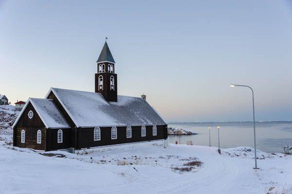Iglesia en Ilullisat