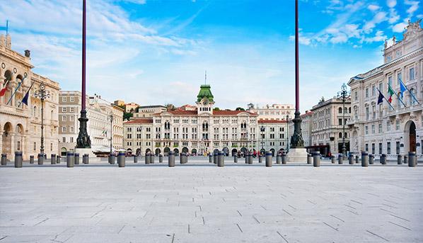 Plaza de la unidad, Trieste