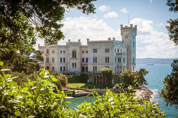 Castillo de Mirarmar, Trieste