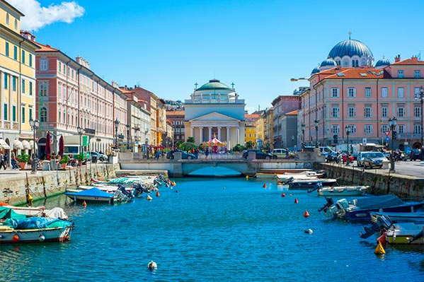 Canal Grande en Trieste