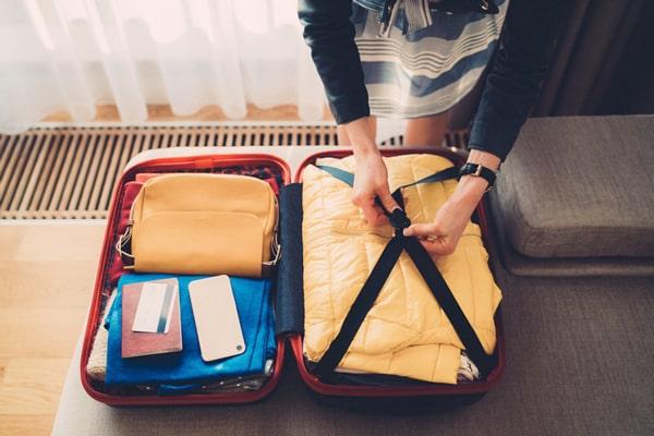 Preparar maleta para el desembarque