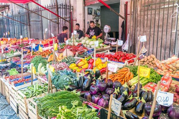 Mercados en Palermo