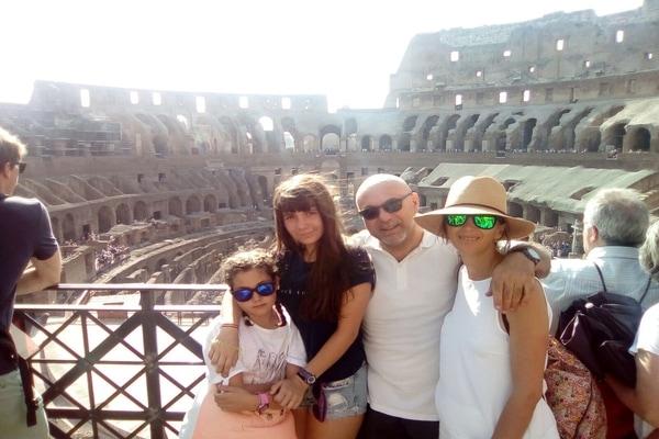 Coliseo Roma en crucero Islas Griegas