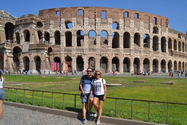 Coliseo Roma en crucero Mediterráneo
