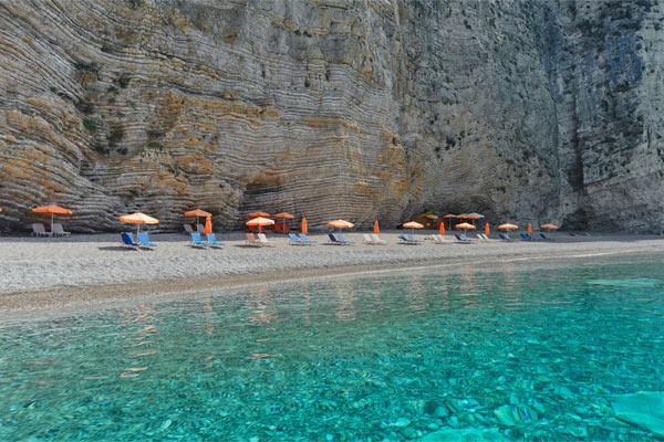 playa paraiso corfu