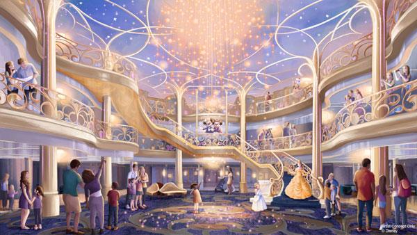 Disney Wish Atrio