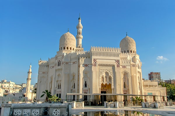 Puerto Alejandría Mezquita de Abu al- bbas al Mursi