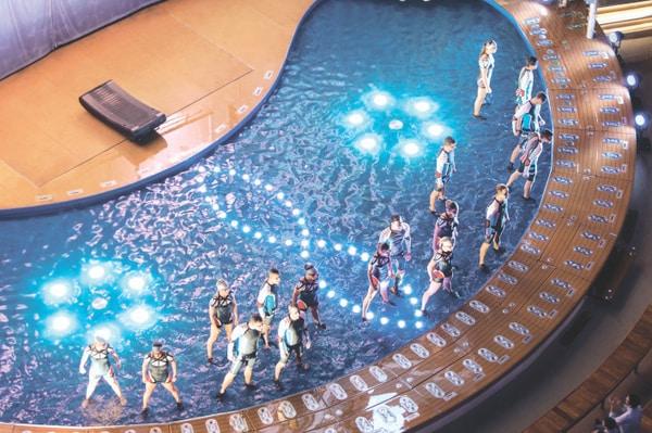 Harmony of the Seas Aquatheater