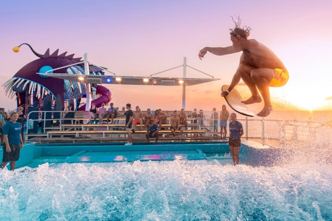Harmony of the Seas flowrider