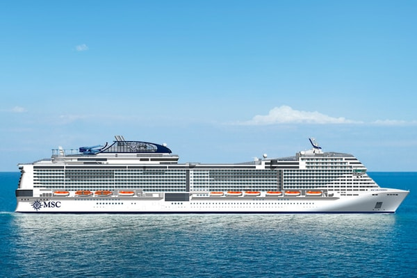 Cruceros MSC Mediterráneo